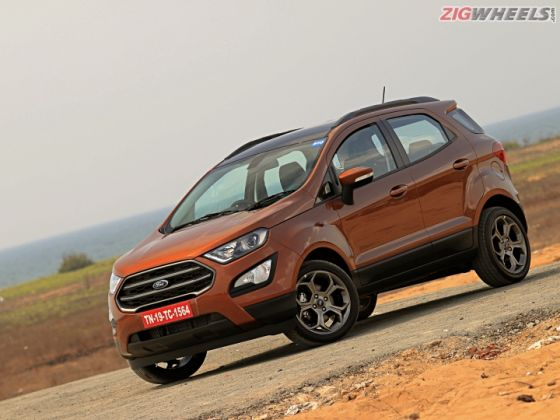 Ford Ecosport Gets A New Instrument Cluster In Select Variants Zigwheels
