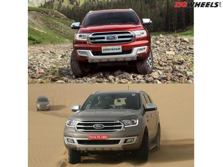 Ford Endeavour Comparison