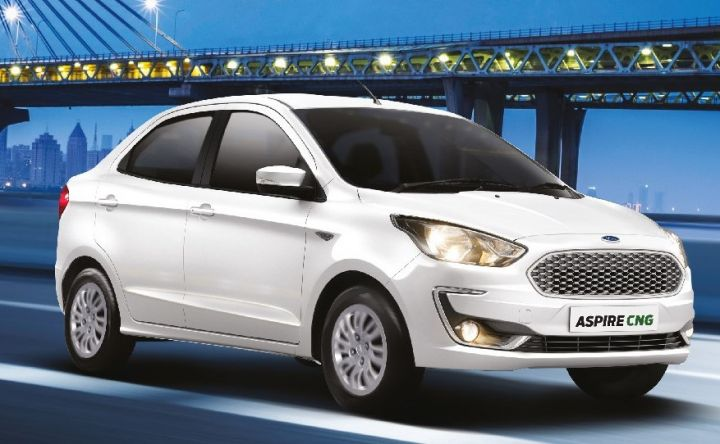 Ford Aspire CNG Variants Launched