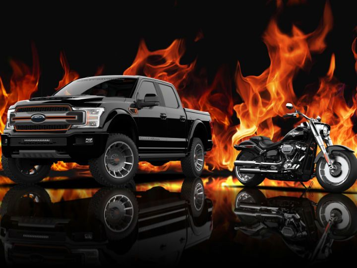 Harley F 150 poster