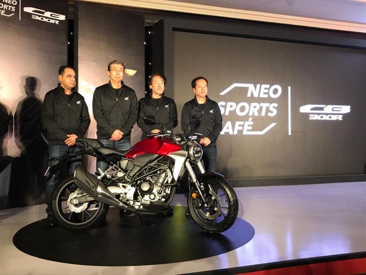 Honda CB300R India Launch