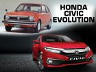 The Evolution Of The Honda Civic
