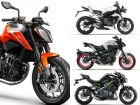 KTM 790 Duke Vs Triumph Street Triple RS Vs Yamaha MT-09 Vs Kawasaki Z900: Spec Comparo