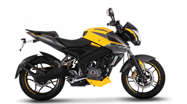 Bajaj Pulsar NS200 Now Comes In Yellow, Again