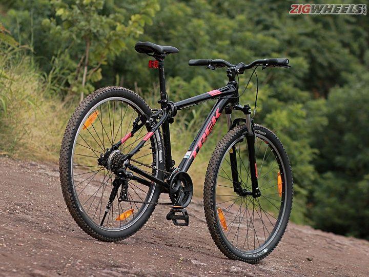 bae480f7800 Trek Marlin 4 Cycle Review - ZigWheels