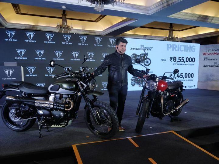 Triumph Launches 2019 Avenue Twin and Avenue Scrambler In India - ZigWheels.com - zigwheels, triumph, scrambler, launches, india, avenue