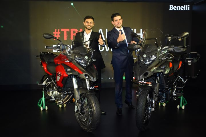 Benelli TRK 502 ADV Bike Launched At Rs 5 Lakh