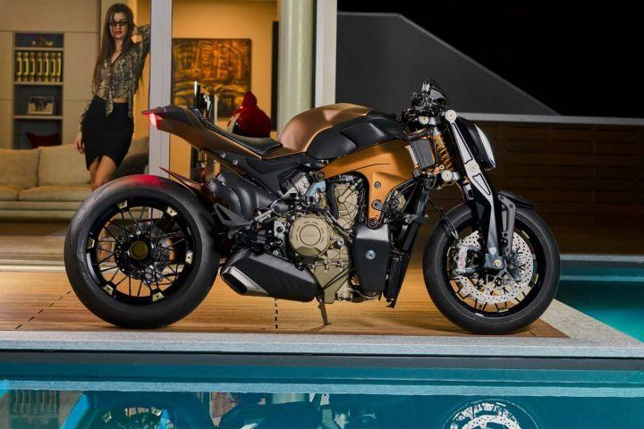 Custom-built Ducati V4 Penta To Fill The Void Of A Naked V4 For Now