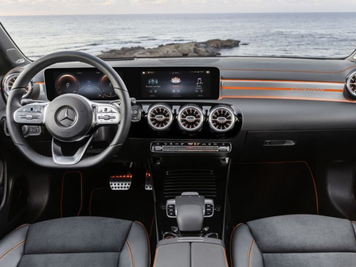 2019 Mercedes Benz Cla Revealed Gets New Interiors And A Tonne Of