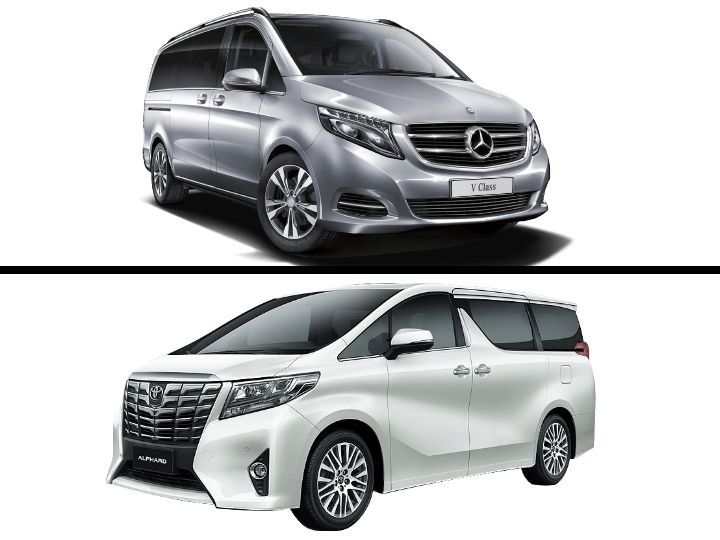 2019 Mercedes-Benz V-Class vs Toyota Alphard: Comparison