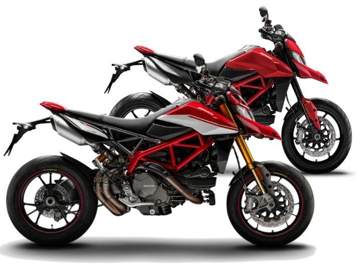 Ducati Hypermotard generations