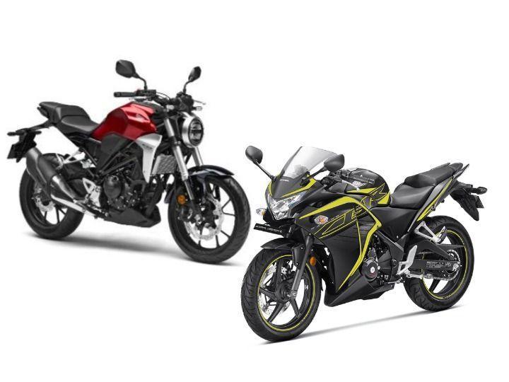 Honda CB300R vs CBR 250R: What's Different? - ZigWheels