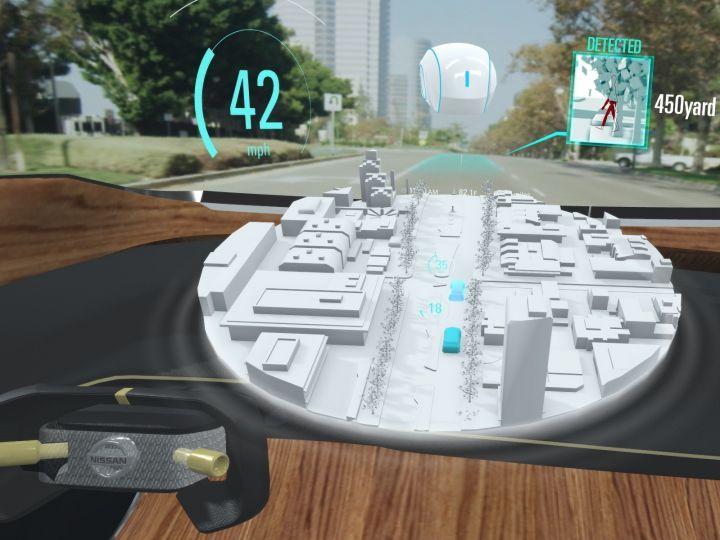 Nissan I2V CES Concept