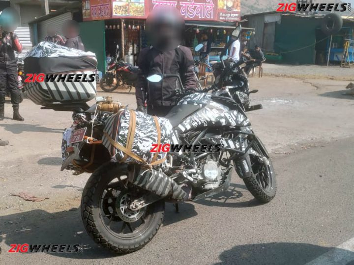 KTM 390 Adventure Spied Exclusive