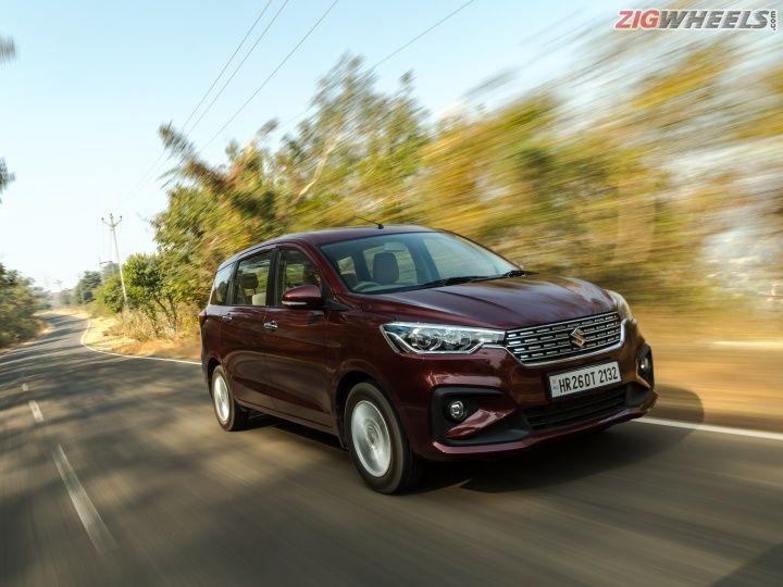 Maruti Ertiga Petrol Review: Road Test