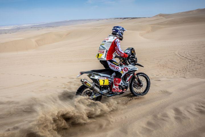 Dakar 2019 Peru Stage 3 Hero TVS Santosh Aravind