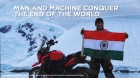 Bajaj Dominar Becomes First Indian Bike To Be Ridden In Antarctica