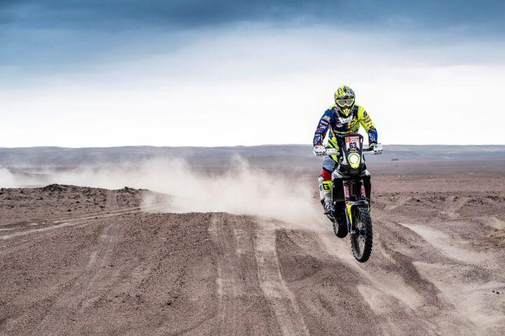 Dakar 2019 Peru Stage 4 Hero TVS Santosh Aravind