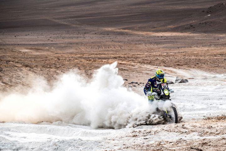 Dakar 2019 Peru Stage 5 Hero TVS Santosh Aravind