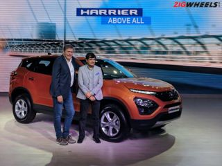 Tata Harrier Launched At Rs 12.69 lakh; Competitively Priced vs Jeep Compass, Hyundai Creta