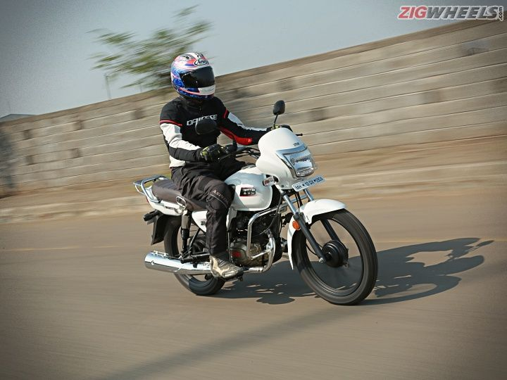 TVS Radeon review front right dynamic