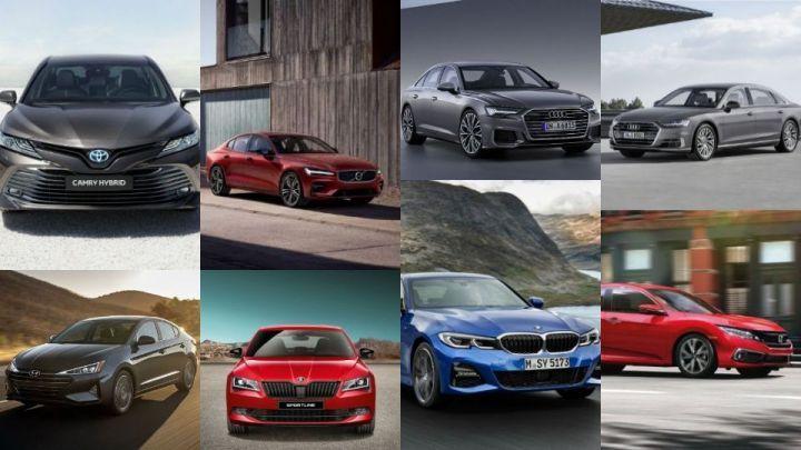 upcoming sedans collage