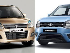 Maruti Suzuki Wagon R: Old Vs New