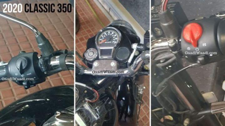 2020 RE classic 350 FI switchgear