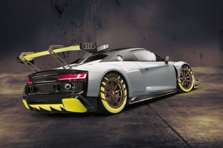 Audi Debuts Exciting 2020 R8 Lms Gt2 Racer At Goodwood Zigwheels