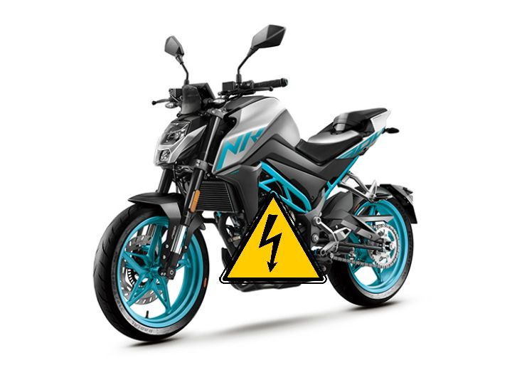 CFMoto Electric motorcycle