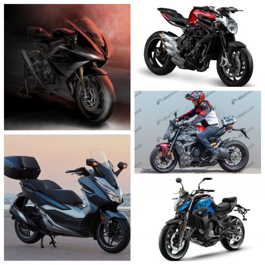 Top 5 Bike News Of The Week: 2020 Triumph Daytona Confirmed, A 300cc Honda Maxi-scooter Coming To India, More Affordable MV Agusta In Works & More!