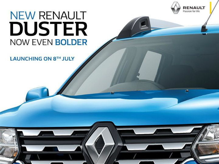 2019 Dacia Duster: Design, Specs, Price >> 2019 Renault Duster Facelift To Launch On July 8 Zigwheels