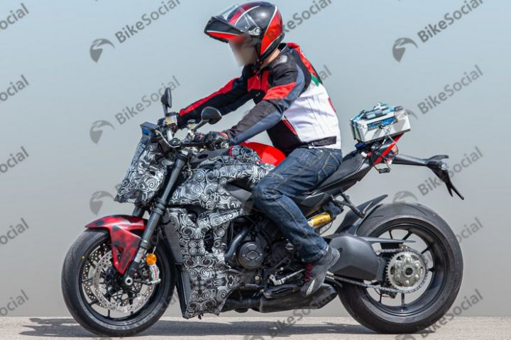 Ducati Streetfighter V4 Spied In Near Production-ready Guise