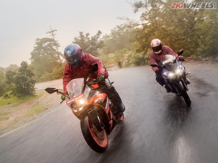 KTM RC 125 vs Yamaha R15 V3: Comparison Review