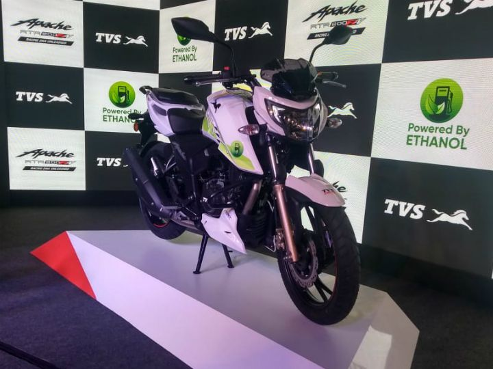 Ethanol-powered TVS Apache RTR 200 Fi E100 5 Things To Kno