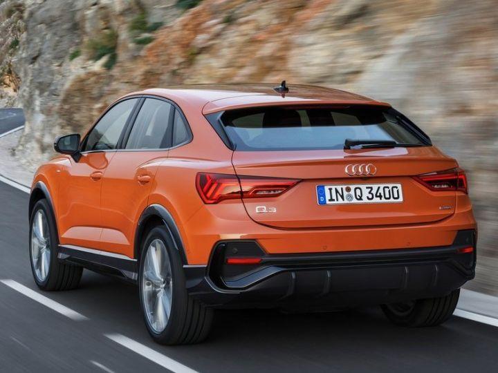 Sportier Looking 2020 Audi Q3 Sportback Revealed! - ZigWheels