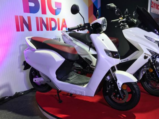 22kymco Iflow Electric Scooter Launched In India Zigwheels