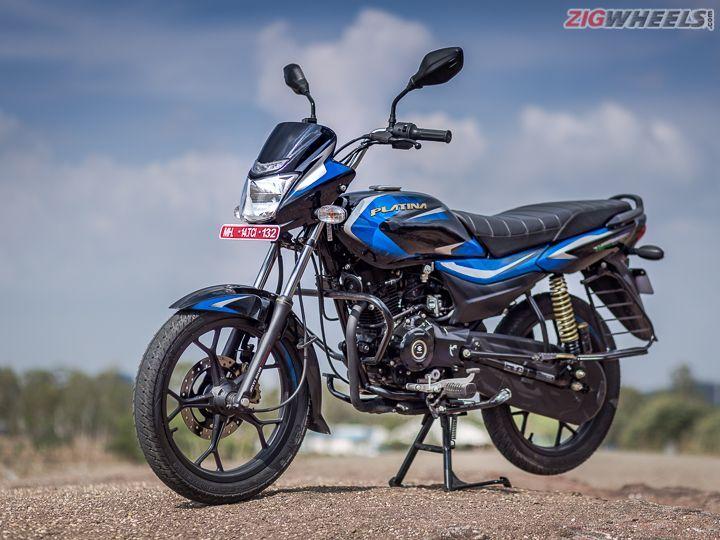 Bajaj Platina 110 H-Gear: Image Gallery