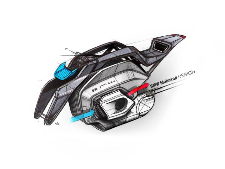 Bmw Motorrad Showcases Radical Electric Vision Dc Roadster Zigwheels