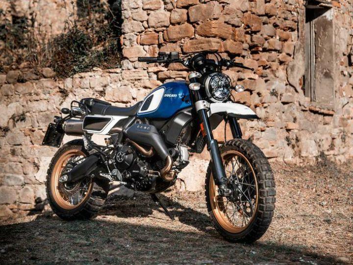 Fuoriluogo Kit For Ducati Scrambler