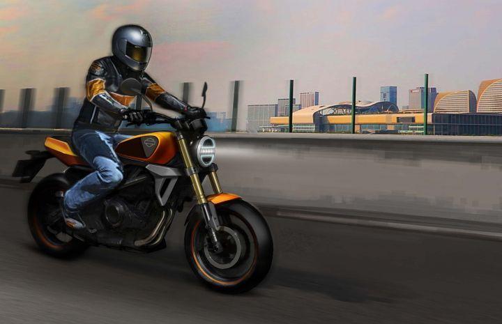 Harley-Davidson 350cc Bike