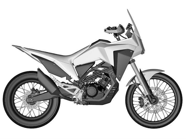 Honda CB125X patent