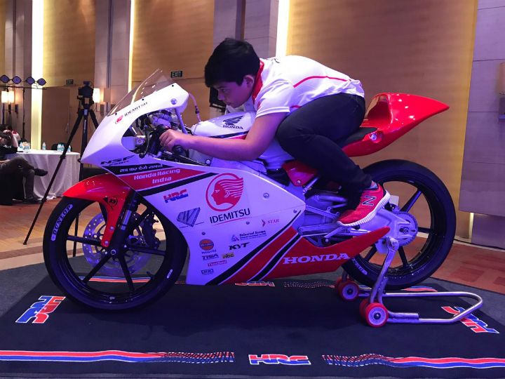 Honda Introduces India NSF250R Talent Cup For 2019