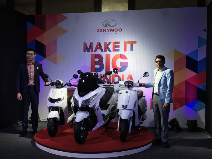 22Kymco Plans To Make In India By The End Of 2019