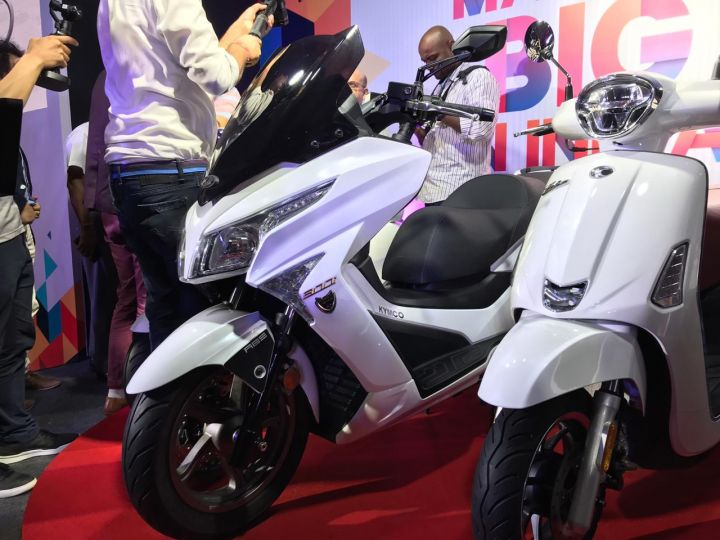 22Kymco X-Town 300i ABS Maxi-scooter Launched In India