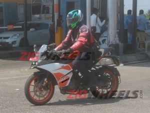 KTM RC 125 Bookings Commence