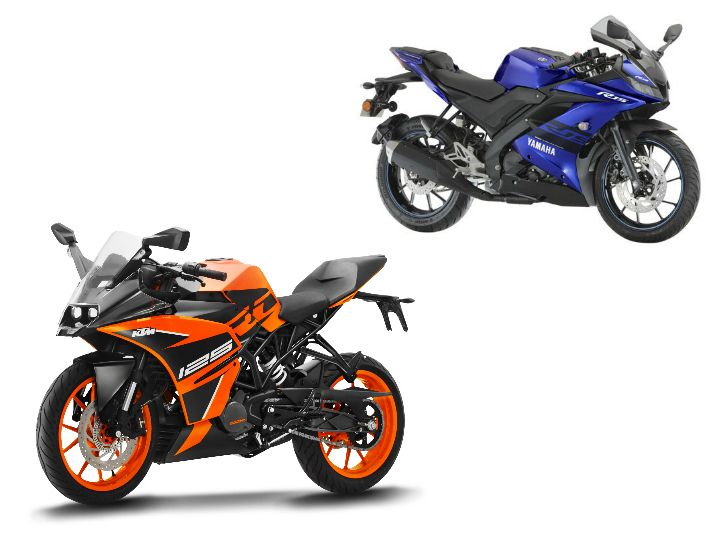 KTM RC 125 vs Yamaha YZF-R15 V3.0: Spec Comparison