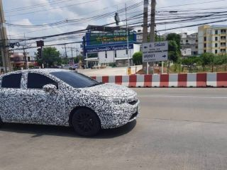 2020 Honda City Spied For The First Time
