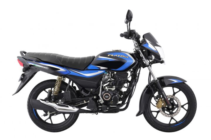 Bajaj Platina 110 H Gear Launched With Segment-first Features