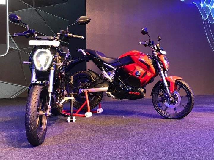 Revolt RV 400 e-bike unveiled. Bookings open on June 25, 2019